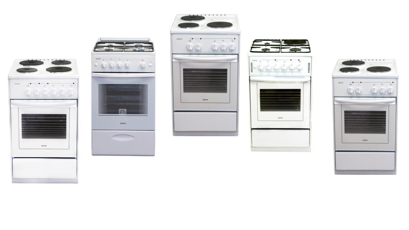 Сравнение лучших моделей плит Лысьва с большой духовкой