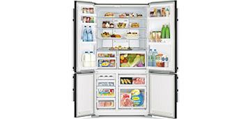 Трехкамерный и функциональный холодильник Mitsubishi Electric MR-LR78G-PWH-R