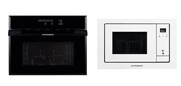 Обзор микроволновых печей с функцией гриль Kuppersberg HMW 969 BL-AL и Kuppersberg HMW 655 W